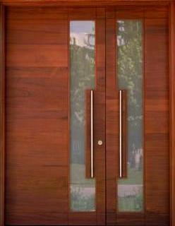 1000 images about puertas doors on pinterest puertas for Puertas principales modernas en madera