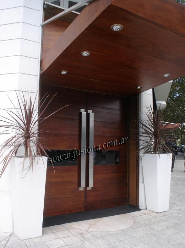 Modernas puertas madera entrada pelautscom tattoo tattooskid - Puertas de entrada modernas ...