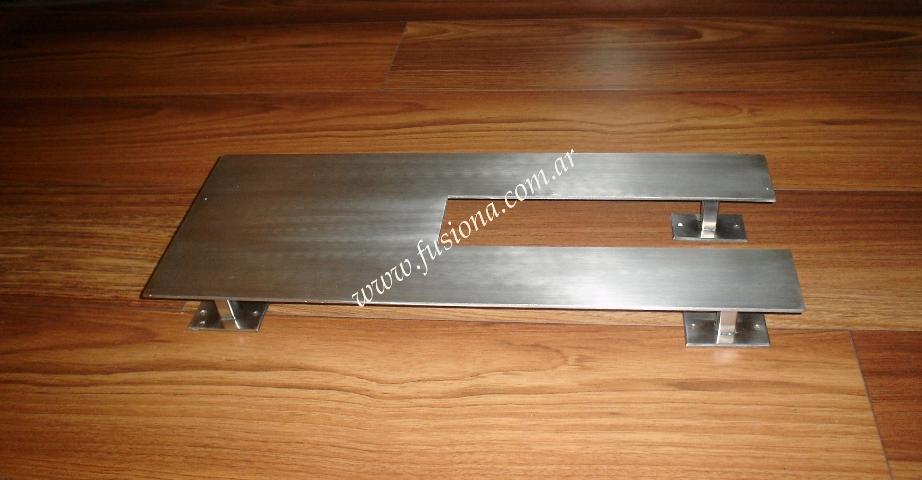 Manijones y barrales de acero inoxidable modelos for Brochetas de acero inoxidable