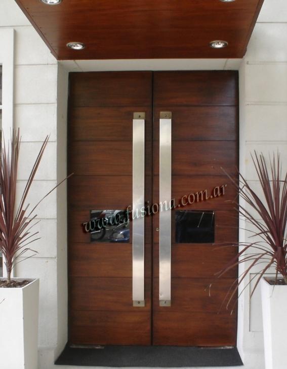 The Garage Door >> - Manijones y barrales de acero inoxidable, modelos contemporaneos
