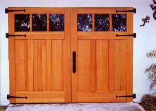 Mas Portones de garage de madera maciza, levadizos, corredizos