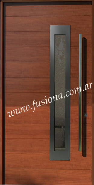 Mas modelos de puertas de entrada modernas de madera for Modelos de zapateras de madera modernas