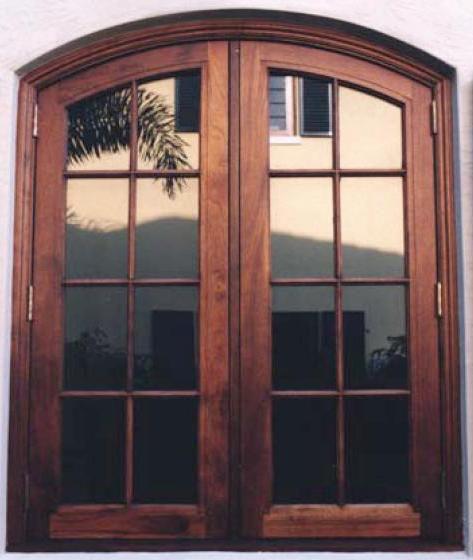 Ventanas de madera de abrir puertas balcon vidrio repartido bow